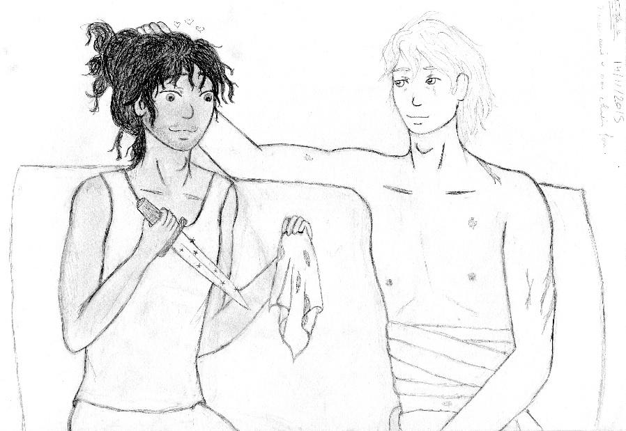 Mercenaire slave et son chiot fou