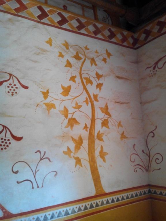 Peinture murale de la chambre d'apparat